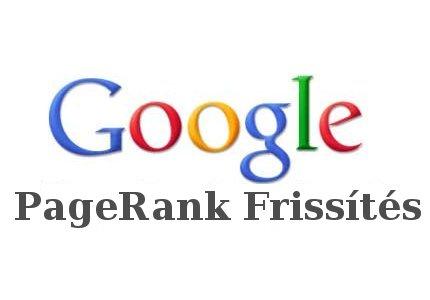 Google Pagerank frissítések